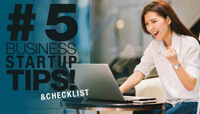 Five things to think about when starting your own business