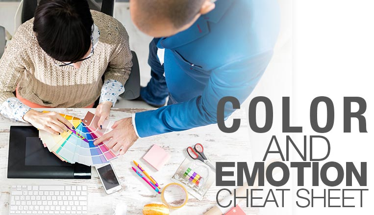 Magic-E's color and emotion cheat sheet – color wheel