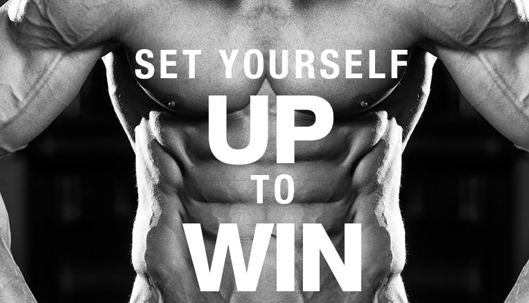 Setting yourself up to win?