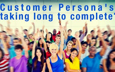 Customer Persona's taking long to complete?